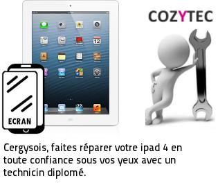 reparation ecran ipad 4 Cergy